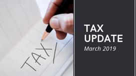 Archer Gowland _ Tax Update March 2019 - Blog Graphic - 2