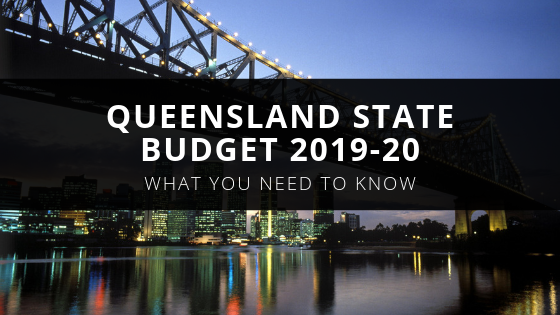QLD State Budget 2019-20